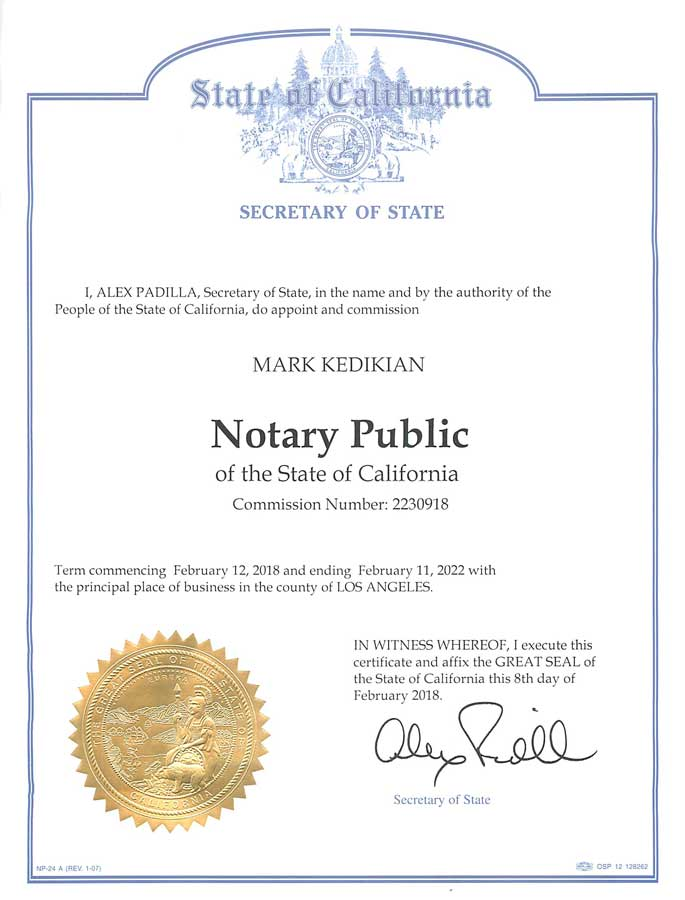 Marco | Notary Fees